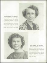 1951 Knoxville High School Yearbook Page 16 & 17