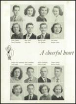 1951 Knoxville High School Yearbook Page 24 & 25