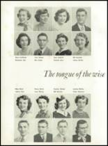 1951 Knoxville High School Yearbook Page 30 & 31