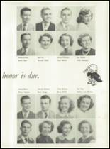 1951 Knoxville High School Yearbook Page 32 & 33