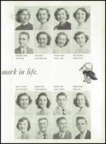 1951 Knoxville High School Yearbook Page 36 & 37