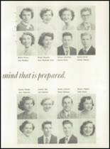 1951 Knoxville High School Yearbook Page 42 & 43