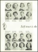 1951 Knoxville High School Yearbook Page 44 & 45