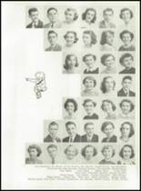 1951 Knoxville High School Yearbook Page 52 & 53