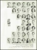 1951 Knoxville High School Yearbook Page 54 & 55