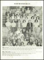 1951 Knoxville High School Yearbook Page 70 & 71