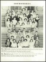 1951 Knoxville High School Yearbook Page 74 & 75
