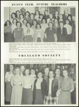 1951 Knoxville High School Yearbook Page 128 & 129