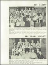 1951 Knoxville High School Yearbook Page 134 & 135