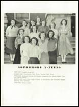 1951 Knoxville High School Yearbook Page 142 & 143