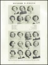 1951 Knoxville High School Yearbook Page 144 & 145
