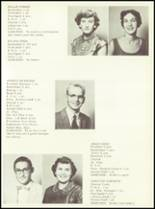 1956 Sunray High School Yearbook Page 14 & 15