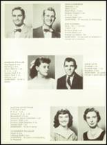 1956 Sunray High School Yearbook Page 16 & 17