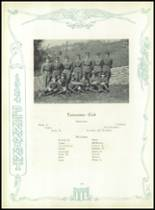 1924 McCallie High School Yearbook Page 122 & 123