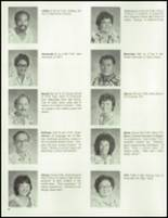 1983 Waianae High School Yearbook Page 22 & 23