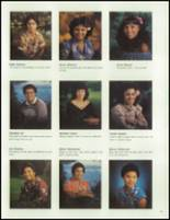 1983 Waianae High School Yearbook Page 46 & 47