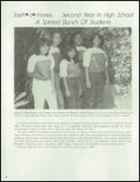 1983 Waianae High School Yearbook Page 92 & 93