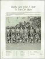 1983 Waianae High School Yearbook Page 154 & 155
