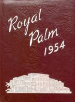 1954 Yearbook Palm Beach High School