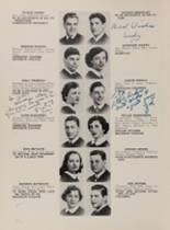 1952 Lafayette High School 400 Yearbook Page 66 & 67