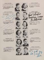 1952 Lafayette High School 400 Yearbook Page 74 & 75