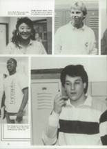1988 West Potomac High School Yearbook Page 42 & 43