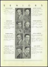 1937 Shinglehouse High School Yearbook Page 14 & 15