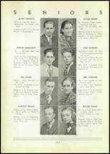1937 Shinglehouse High School Yearbook Page 16 & 17