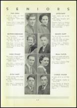 1937 Shinglehouse High School Yearbook Page 18 & 19