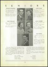 1937 Shinglehouse High School Yearbook Page 20 & 21