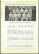 1937 Shinglehouse High School Yearbook Page 44 & 45