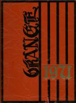 1971 Yearbook Orange High School