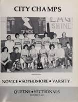 1975 Archbishop Molloy High School Yearbook Page 192 & 193