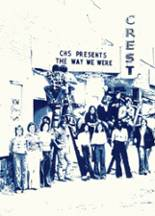 1977 Yearbook Crestline High School