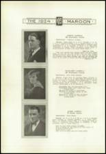 1924 Kingston High School Yearbook Page 26 & 27