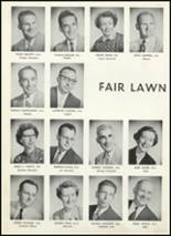 1955 Fair Lawn High School Yearbook Page 18 & 19