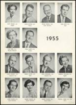 1955 Fair Lawn High School Yearbook Page 20 & 21