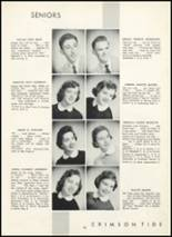 1955 Fair Lawn High School Yearbook Page 24 & 25