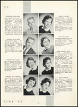 1955 Fair Lawn High School Yearbook Page 26 & 27