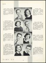 1955 Fair Lawn High School Yearbook Page 28 & 29