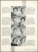 1955 Fair Lawn High School Yearbook Page 34 & 35