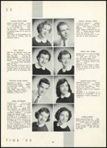 1955 Fair Lawn High School Yearbook Page 42 & 43