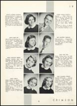 1955 Fair Lawn High School Yearbook Page 44 & 45