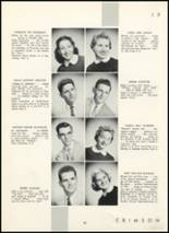 1955 Fair Lawn High School Yearbook Page 46 & 47