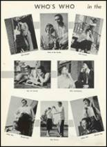 1955 Fair Lawn High School Yearbook Page 58 & 59