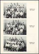 1955 Fair Lawn High School Yearbook Page 68 & 69