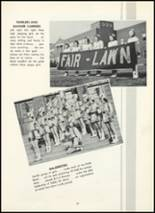 1955 Fair Lawn High School Yearbook Page 82 & 83