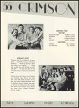 1955 Fair Lawn High School Yearbook Page 86 & 87