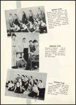 1955 Fair Lawn High School Yearbook Page 98 & 99