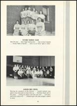 1955 Fair Lawn High School Yearbook Page 100 & 101